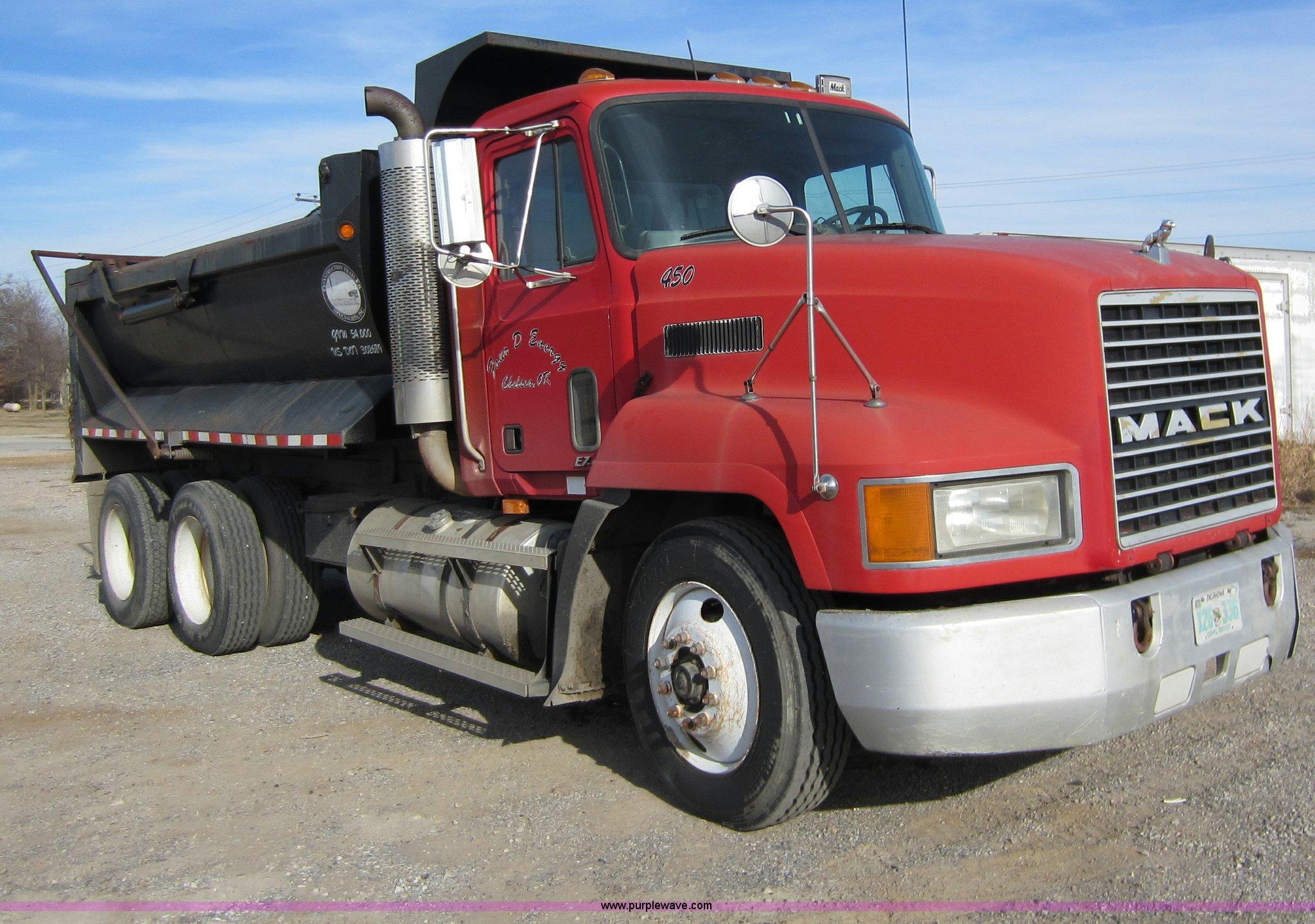 Mack Dump Truck Trailer Wiring Diagram 1996 Ch613 Item A5652 Sold January 26 C Peterbilt