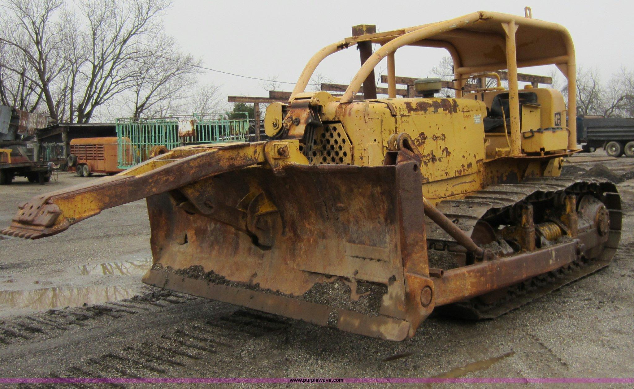 A5671 1967 caterpillar d6c dozer item a5671 sold! january 26 c Caterpillar D6C 10K at reclaimingppi.co