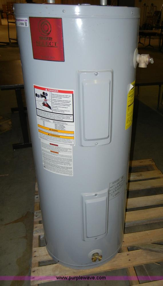 State Select hot water heater Item J9306 SOLD February