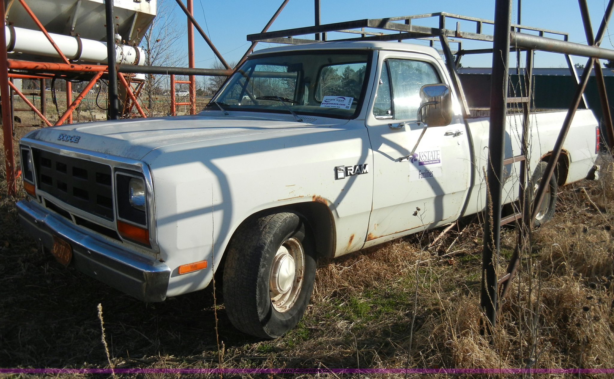 A3409 image for item a3409 1982 dodge ram