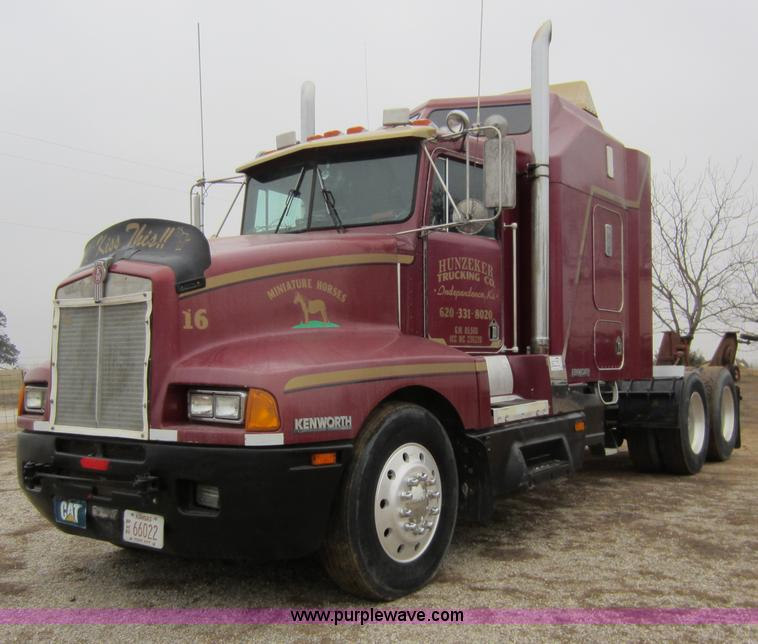 kenworth  semi truck item  sold february
