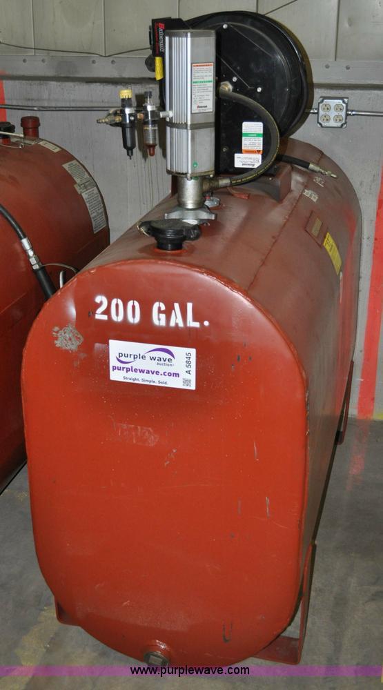 Quality Air Tool 200 Gallon Bulk Oil Tank Item A5845