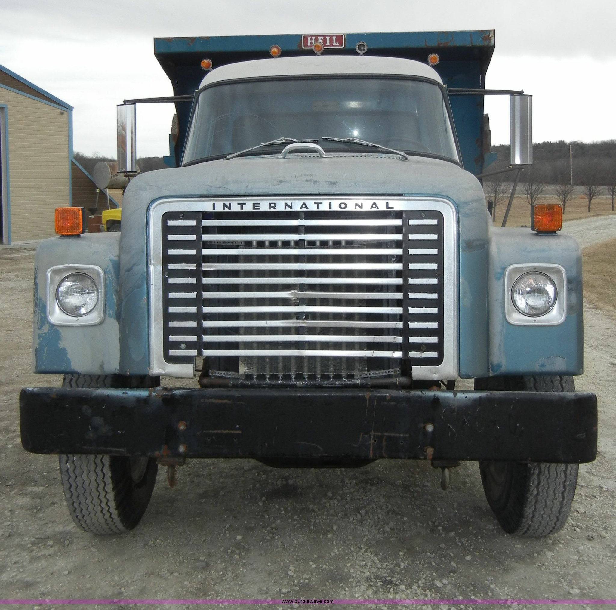1977 International Loadstar 1700 Dump Truck In Manhattan