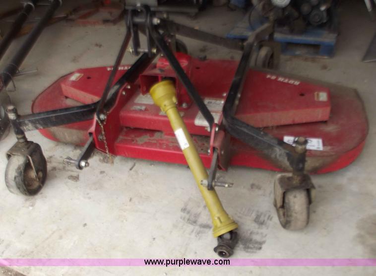 Bush Hog Rdth84 84 Quot Finish Mower Item B6204 Sold F