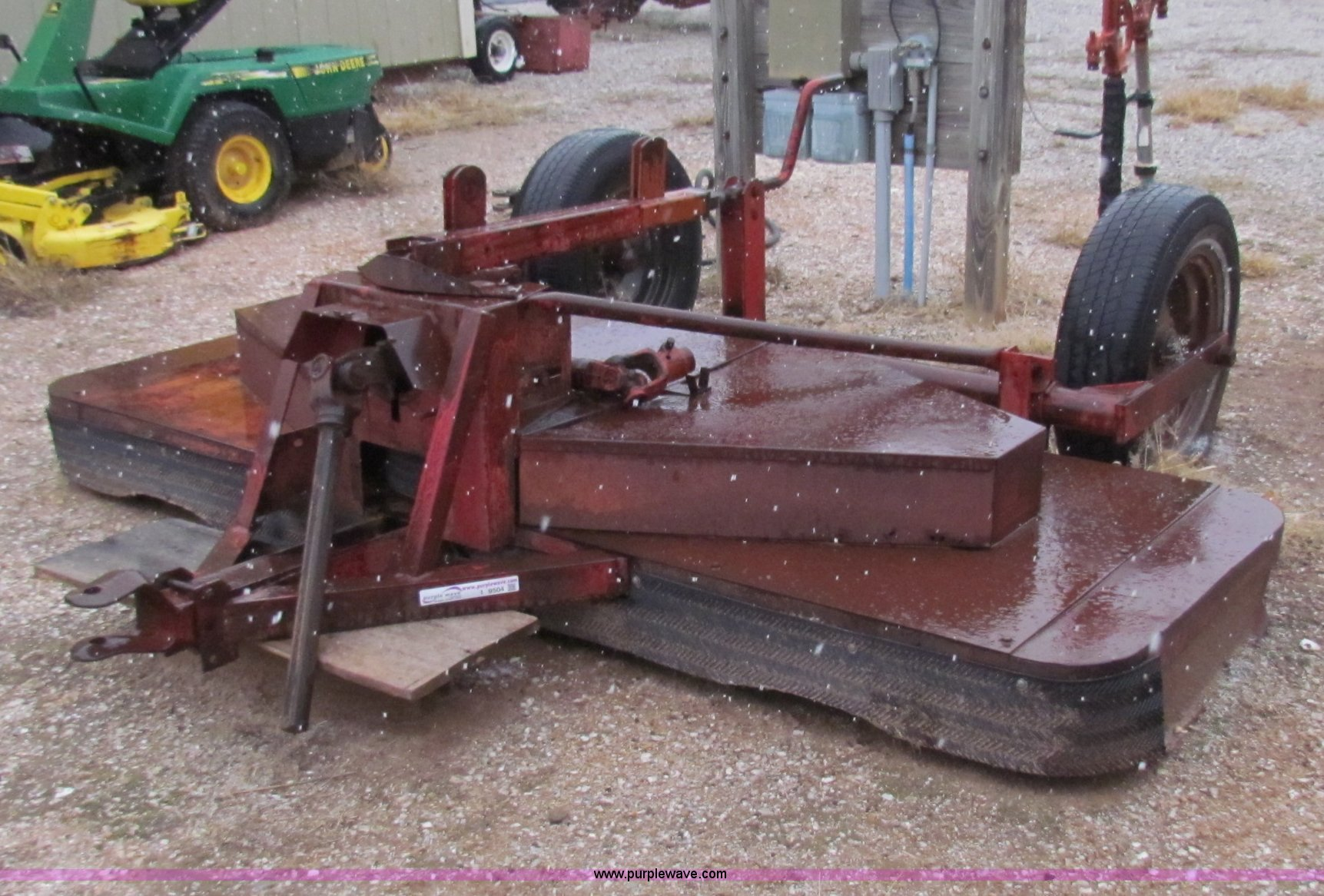 Home Made Tractor Clutch : Lilliston mower item i sold february ag
