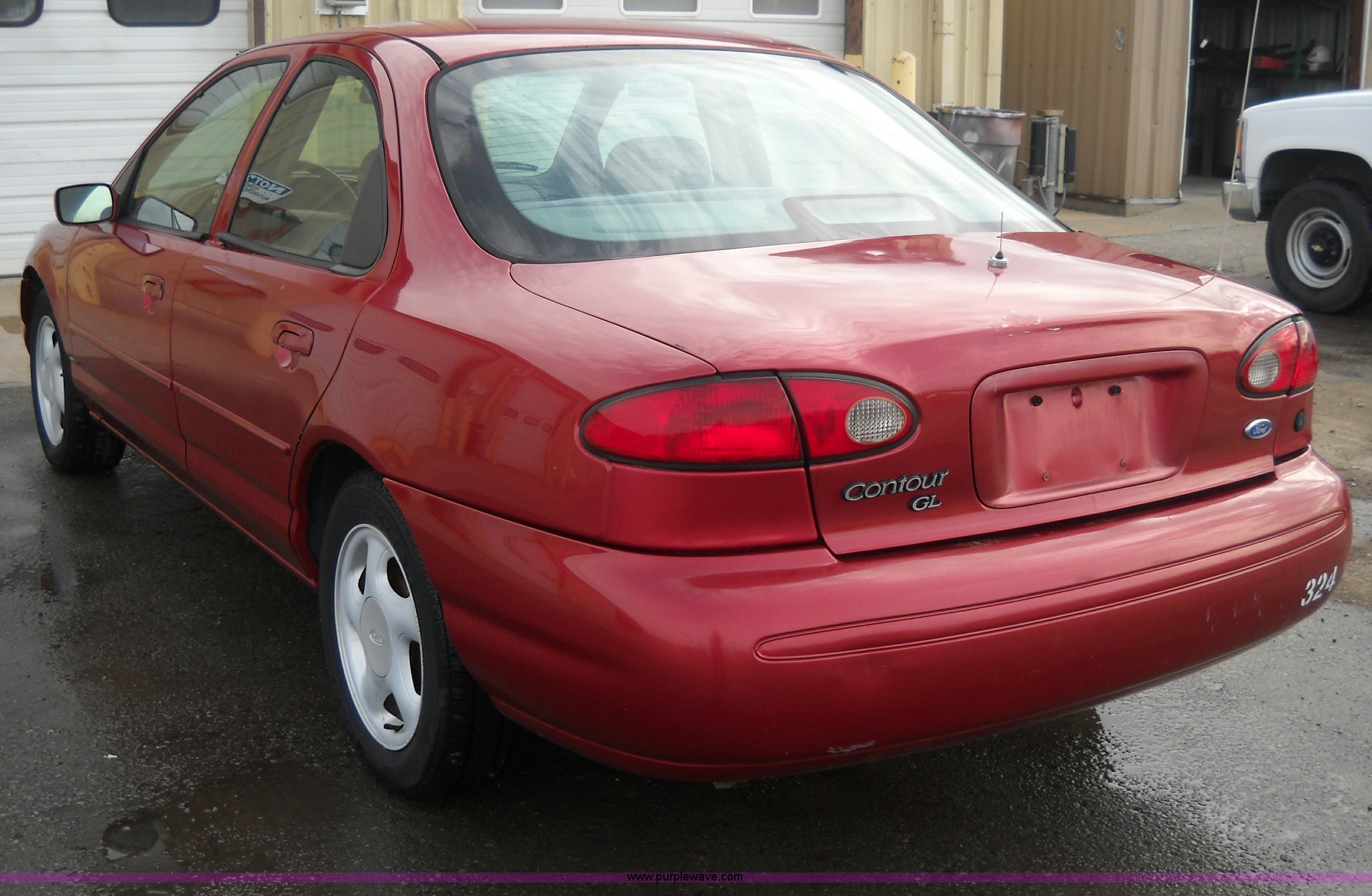 1996 ford contour gl in topeka ks item a1844 sold purple wave 1996 ford contour gl in topeka ks