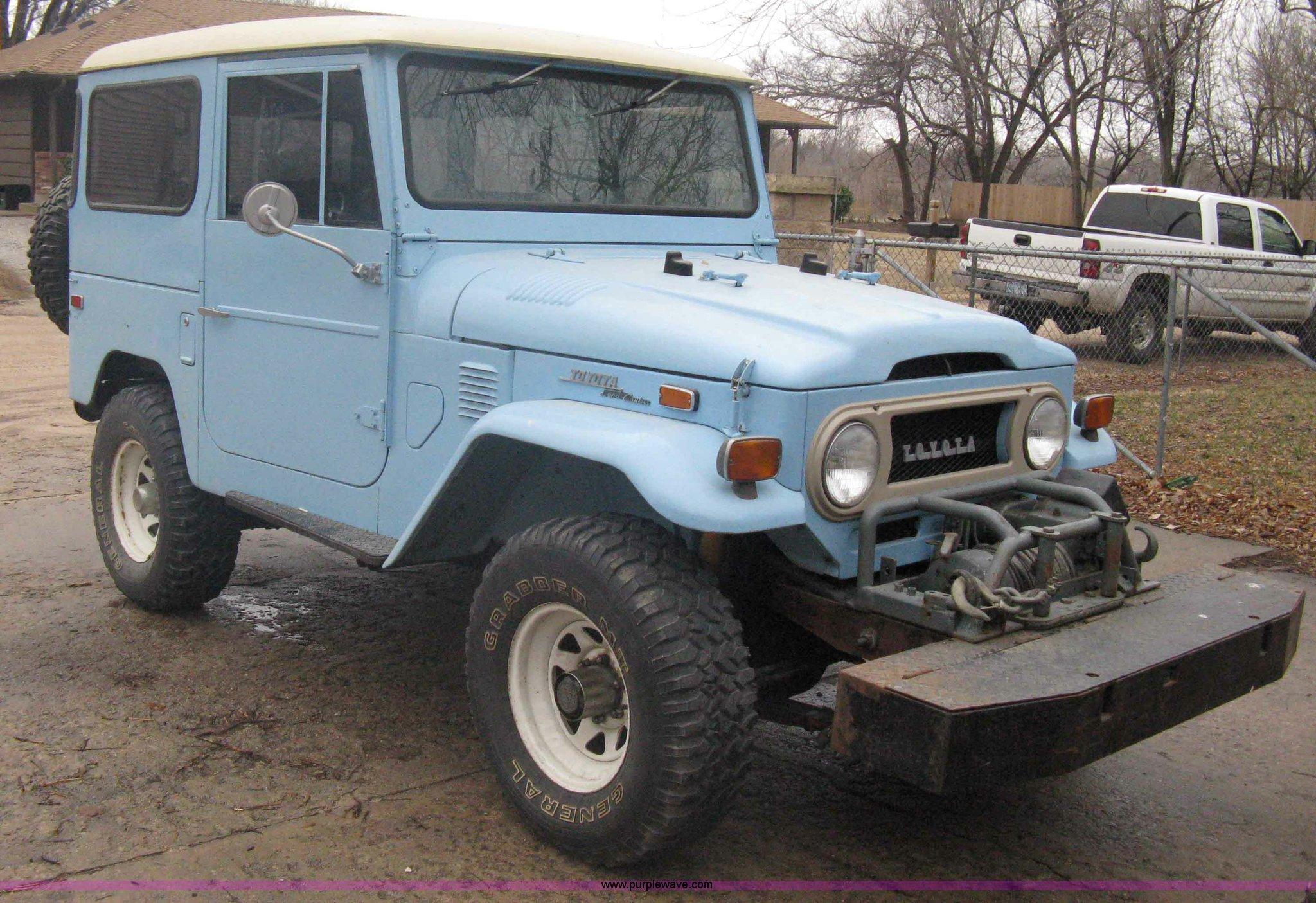 1973 Toyota Land Cruiser Item A6056 Sold March 7 Midwes Owners Manual Image For