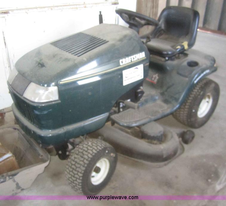 1999 Craftsman 917-272140 lawn mower | Item B5677 | SOLD! Ma