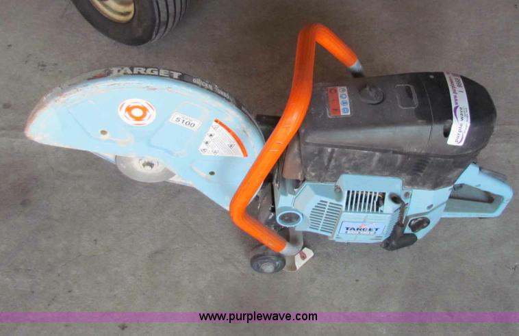 Target Quickie Turbo 80 Concrete Saw Item I9563 Sold