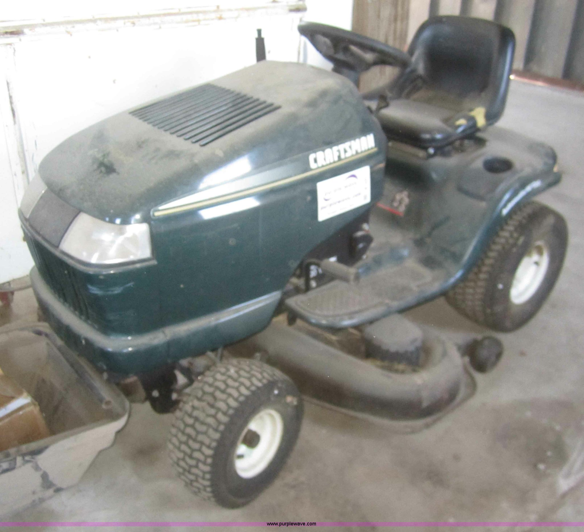 1999 Craftsman 917 272140 Lawn Mower Item B5677 3 13 2012