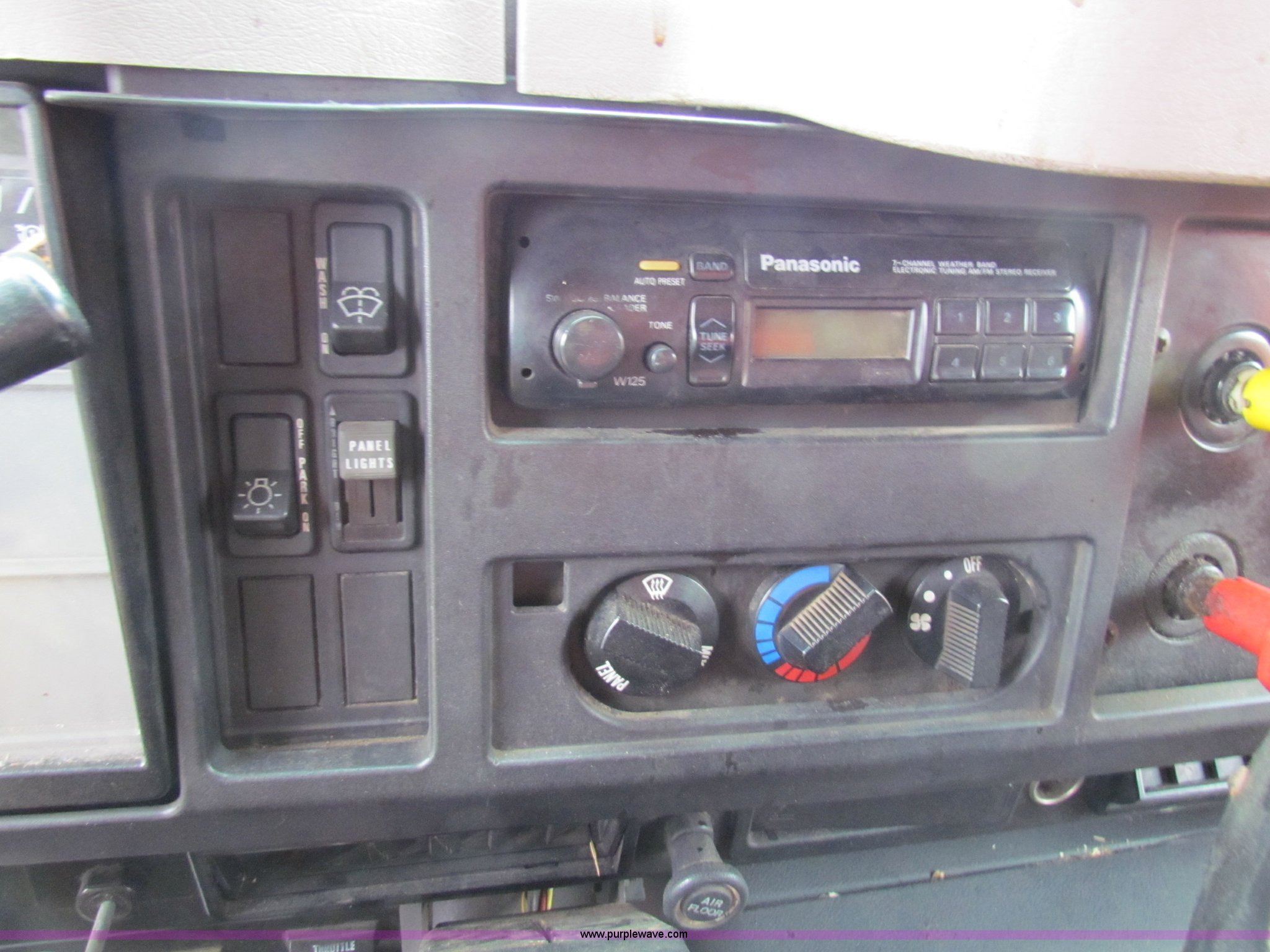 1997 International 4900 Tandem Axle Dump Truck Item B7132 Car Radio Wiring Panasonic W125 Full Size In New Window