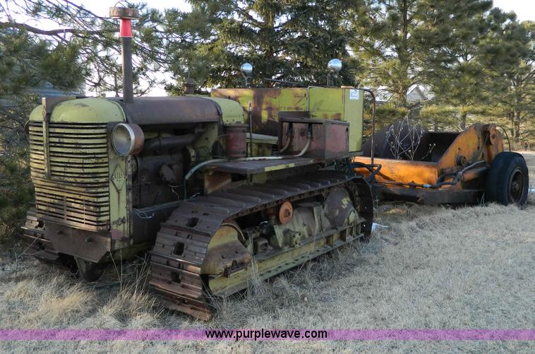 Allis Chalmers HD7 crawler tractor | Item D8766 | SOLD! Marc