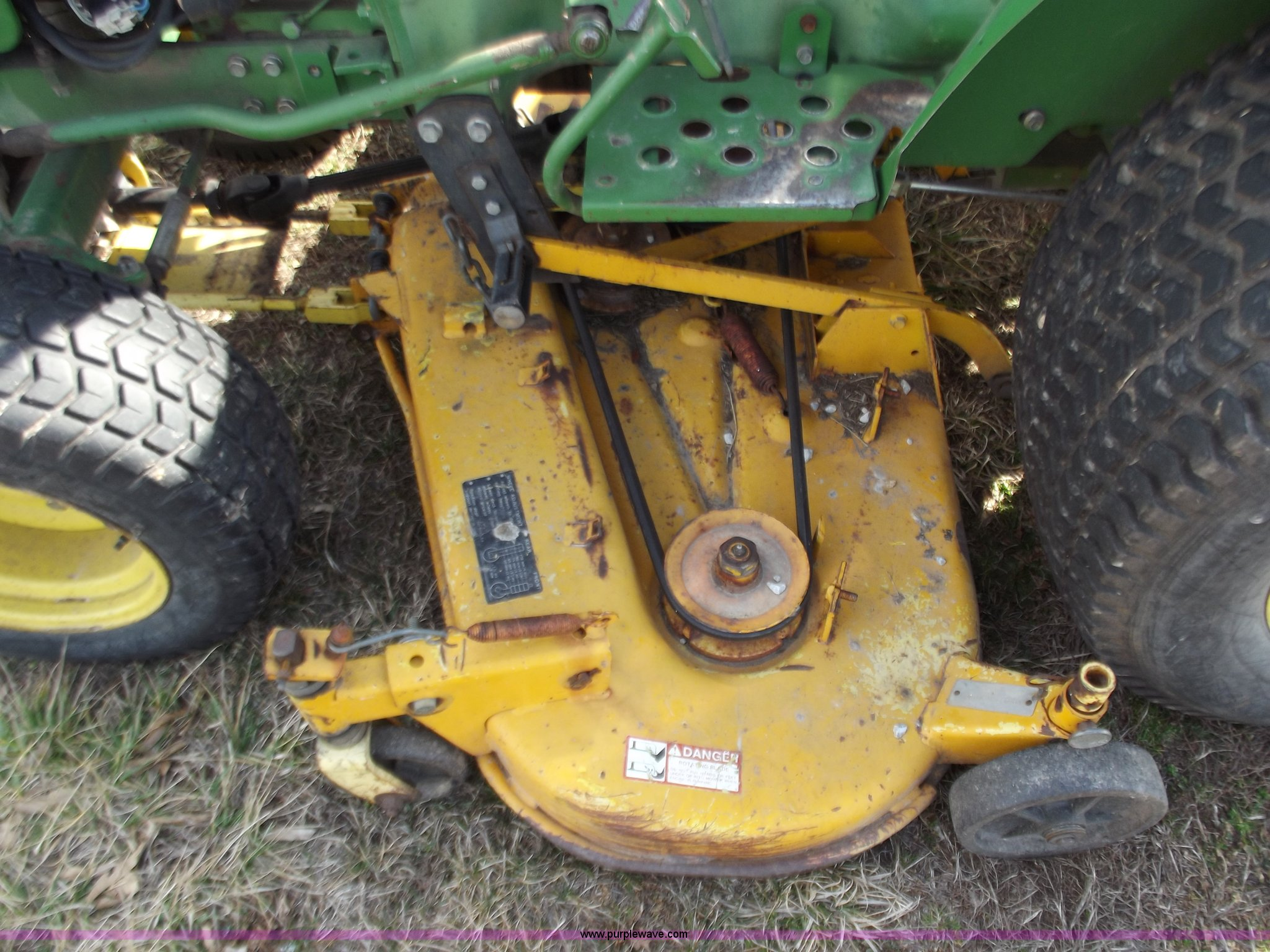 John Deere 650 lawn and garden tractor | Item E9629 | SOLD! ...