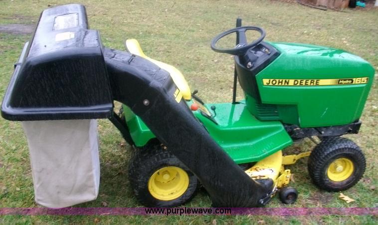 John Deere 165 Hydro Lawn Mower In Wamego  Ks