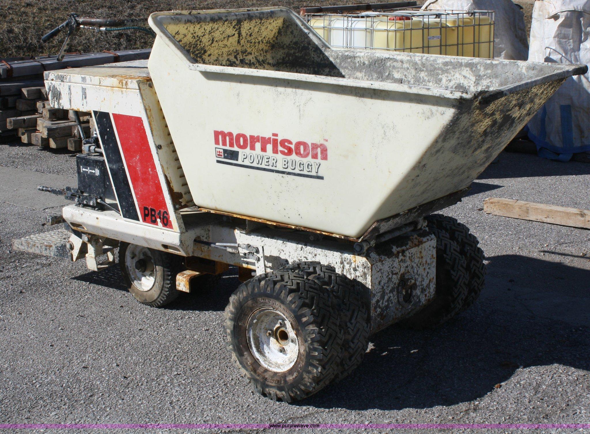 Morrison Concrete DB16 power buggy | Item A6973 | SOLD! Marc