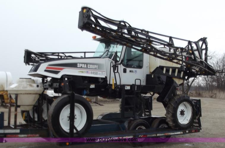 2005 AGCO Spra Coupe 4450 With Trailer Item B6272 SOLD