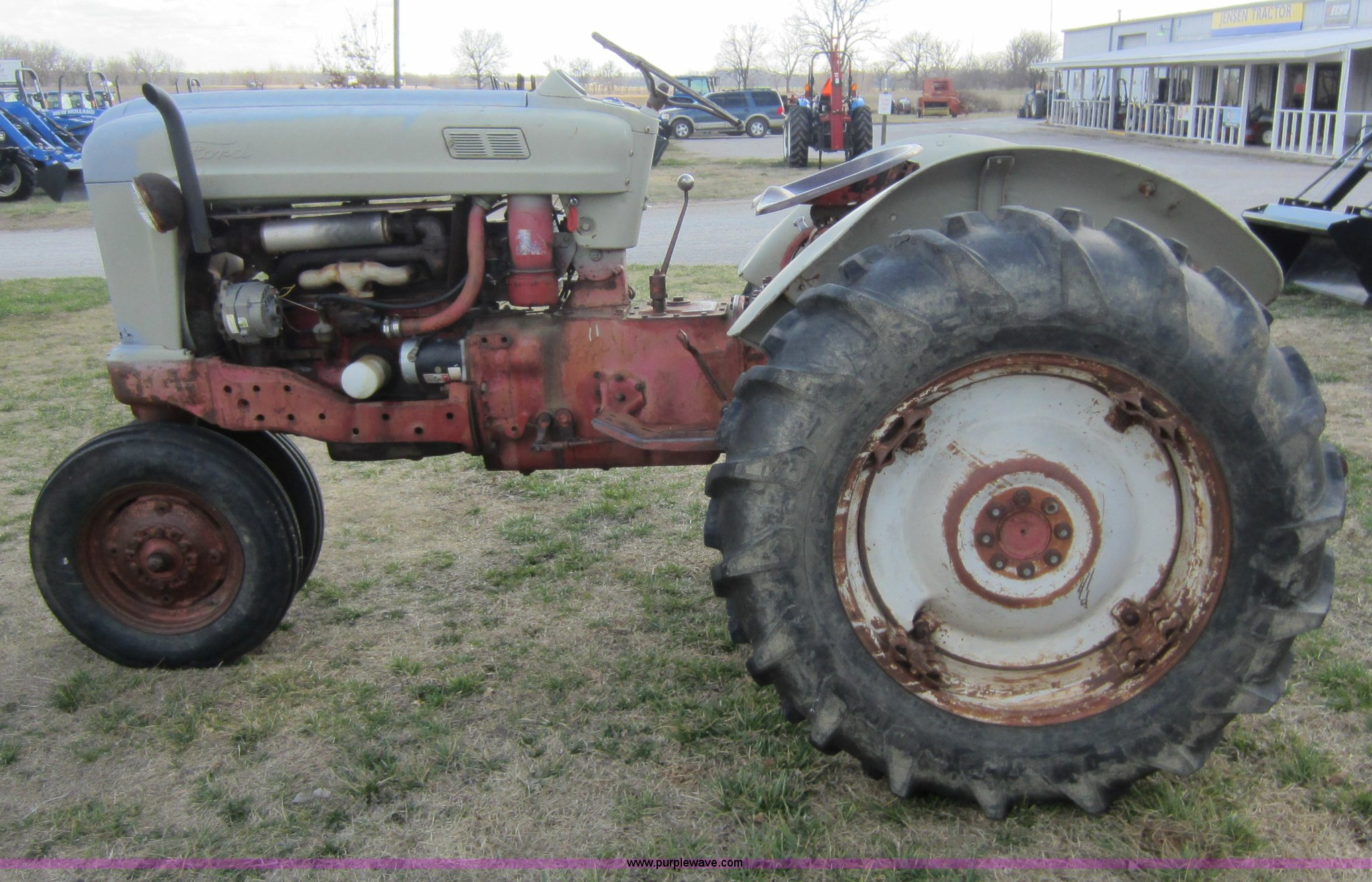1956 Ford Tractor : Ford tractor item c sold march ag