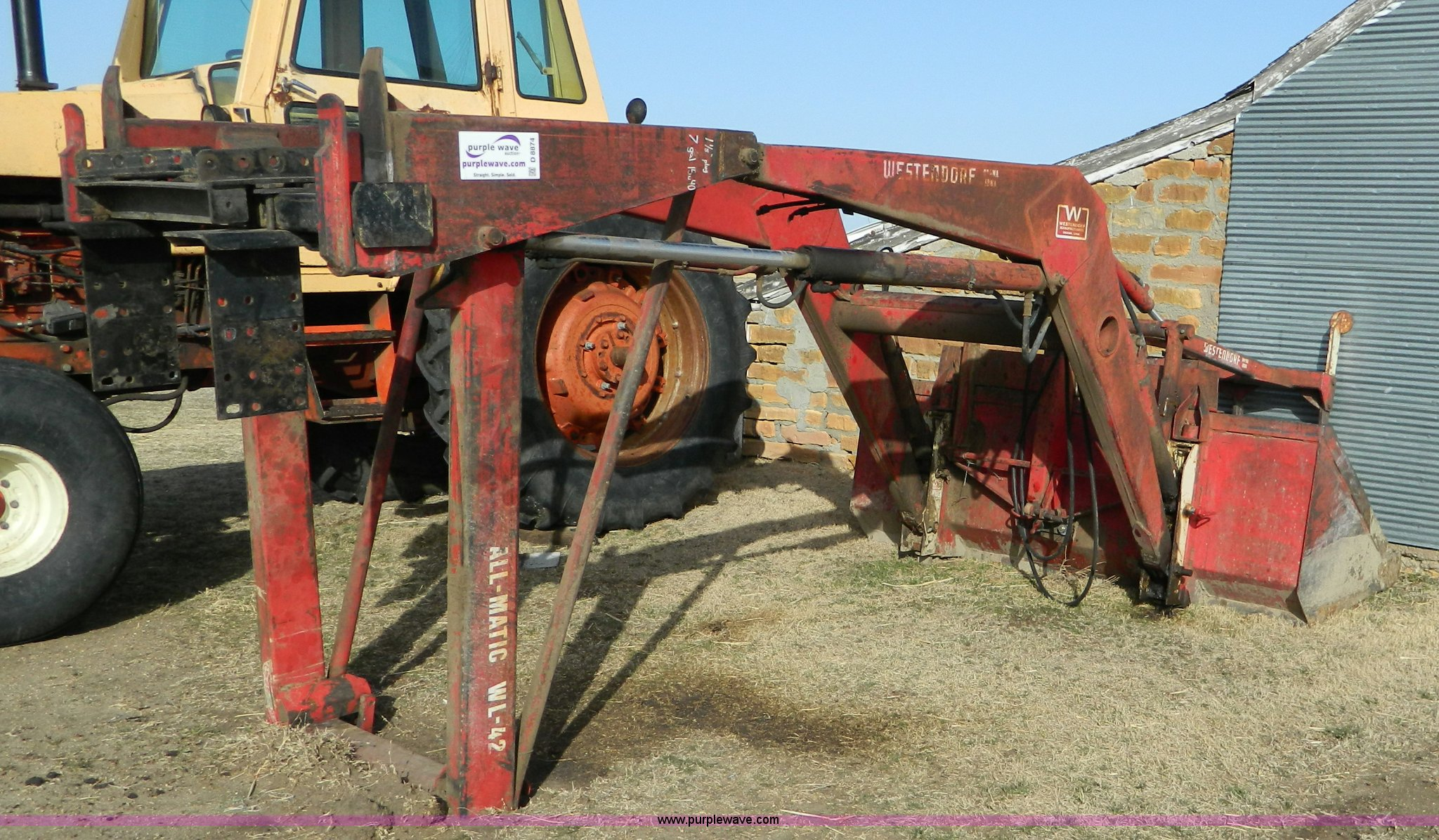 Westendorf All-Matic WL-42 loader | Item D8874 | SOLD! March