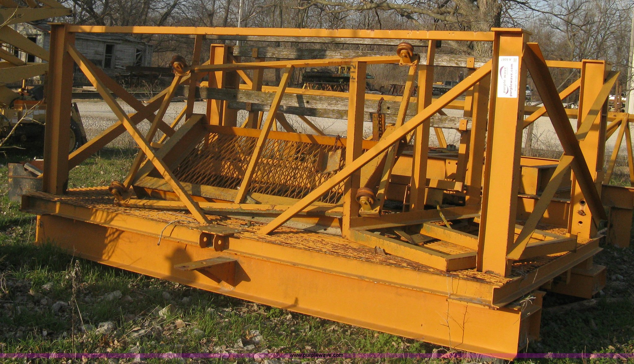 United Form Service 835 cantilever stripping buggy | Item A6