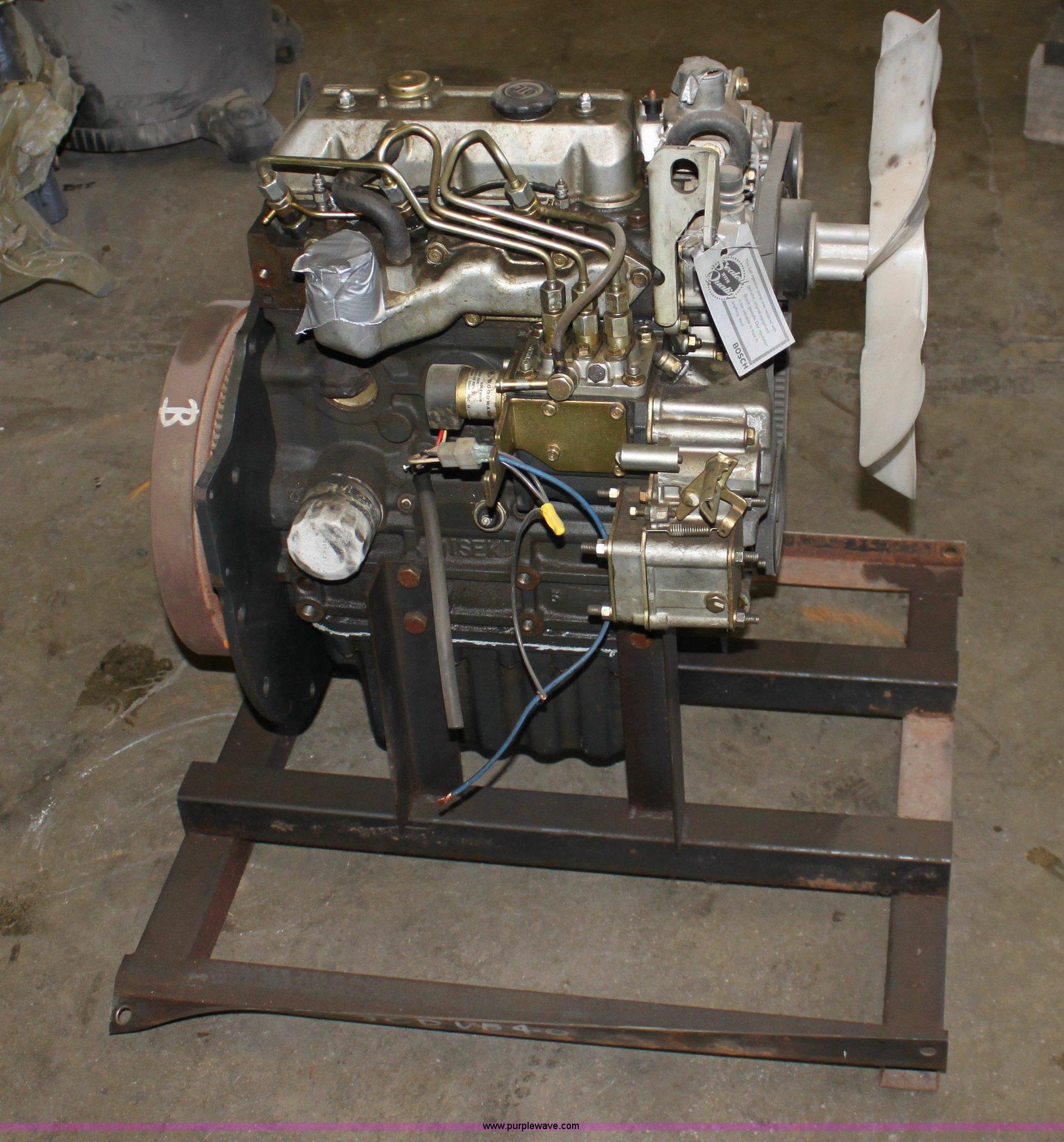 Iseki Matsuyama three cylinder diesel engine | Item A7324 |