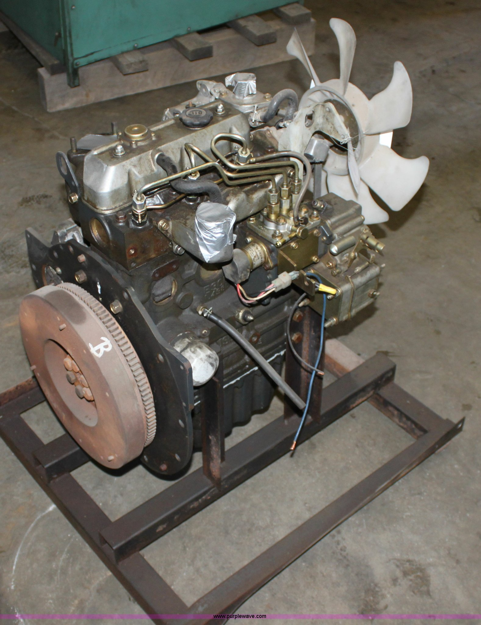 Iseki Matsuyama three cylinder diesel engine | Item A7324 |