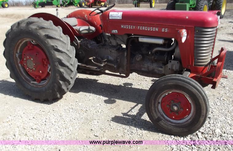 1965 Massey Ferguson Mf65 Tractor In Harrisonville Mo Item D3584 Sold Purple Wave