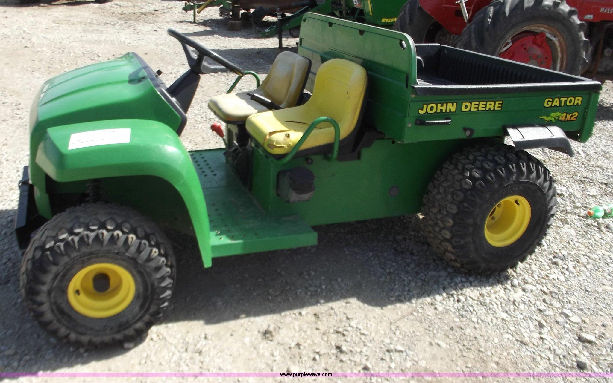John Deere Gator For Sale >> 2001 John Deere 4x2 Gator Item D3583 Sold March 30 Ag D
