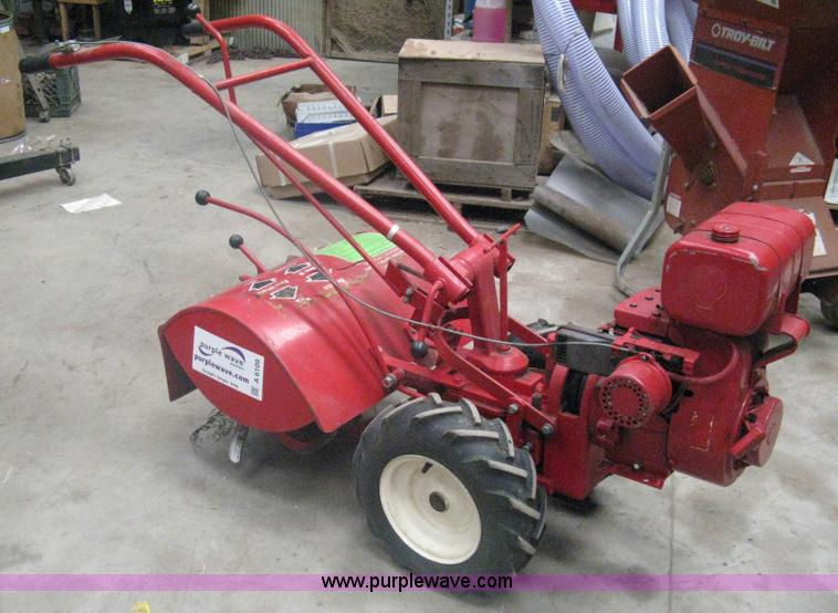 Troy Bilt Rear Tine Roto Tiller Item A6109 Sold April 4