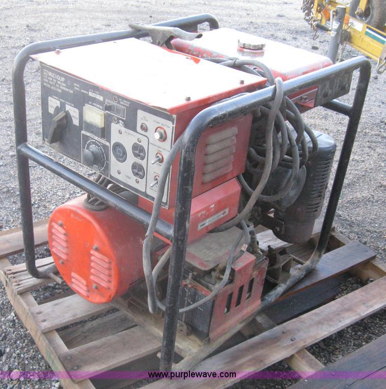 multiquip acx generator
