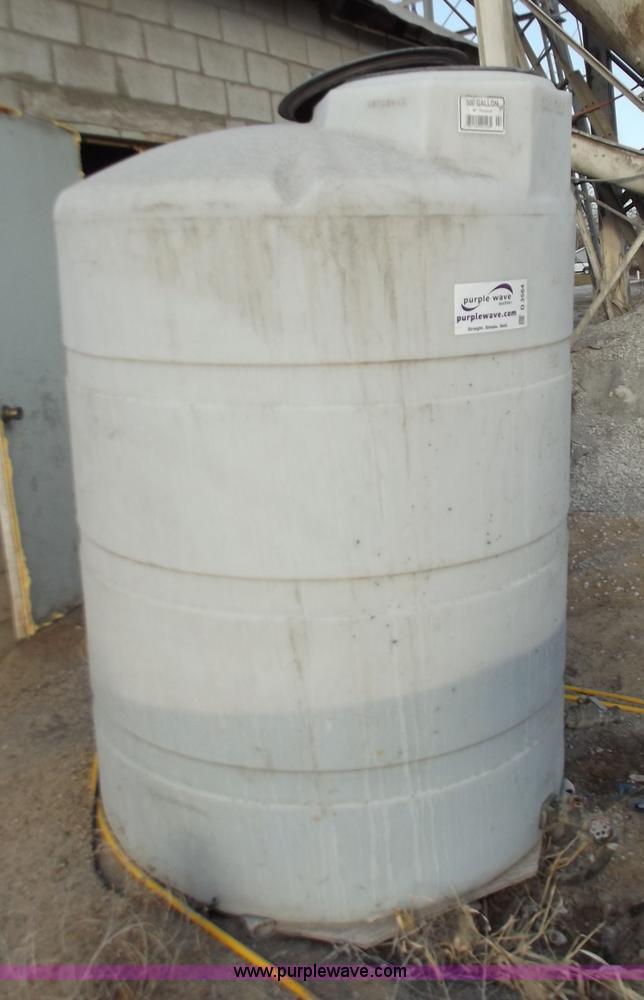 500 Gallon Water Tank >> 500 Gallon Plastic Water Tank Item D3564 Sold April 4 M