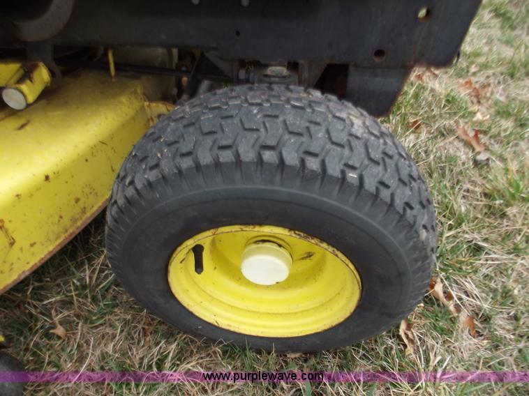 John Deere 330 lawn mower   Item D3670   SOLD! April 4 Midwe