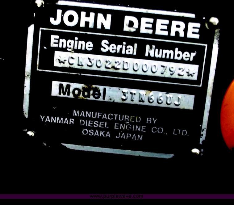 John Deere 330 lawn mower | Item D3670 | SOLD! April 4 Midwe