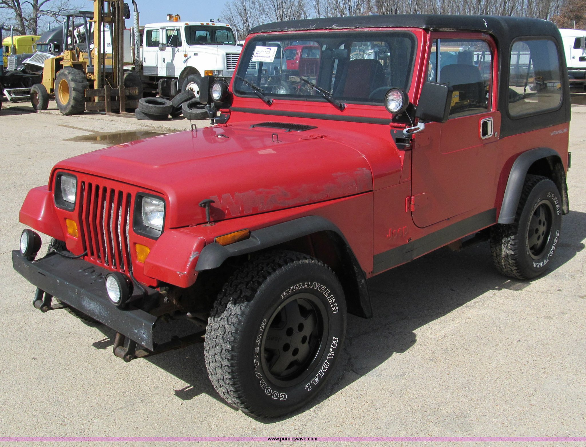 1995 Jeep Wrangler hard top SUV Item D3061