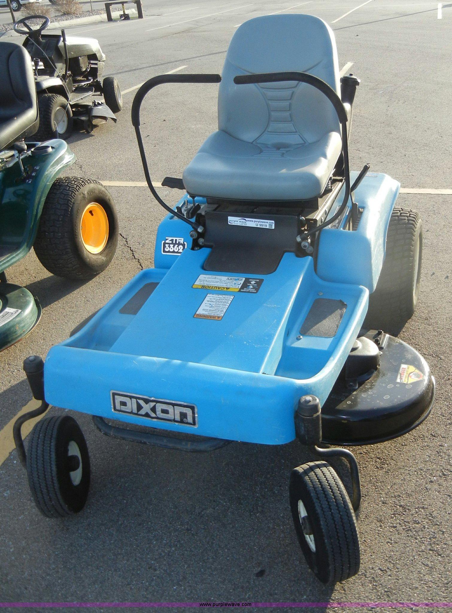 Dixon 3362 Ztr Lawn Mower Item U9919 Sold April 4 Midwe Wiring Diagram Full Size In New Window