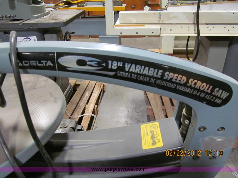 Delta 18 variable speed scroll saw item a8168 sold a8168 image for item a8168 delta 18 variable speed scroll saw keyboard keysfo Image collections