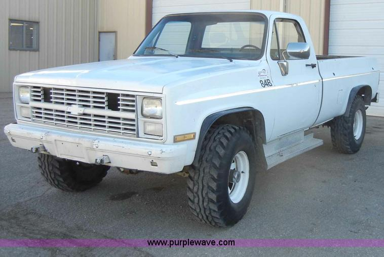 Chevy Military Trucks For Sale >> 1984 Chevrolet D30 Military 1 25 Ton Truck Item C4012 4