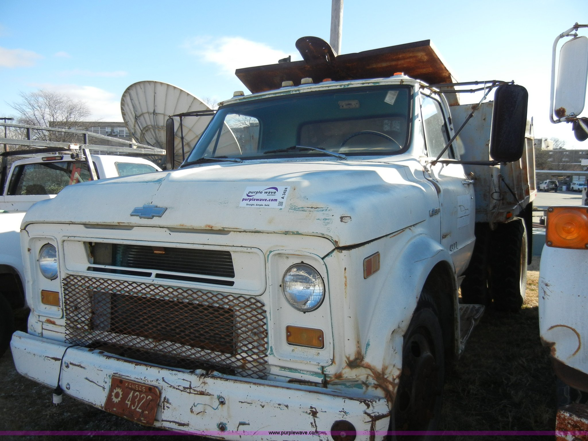 1969 Chevrolet C50 Dump Truck Item A3424 Sold April 10 Ford Image For