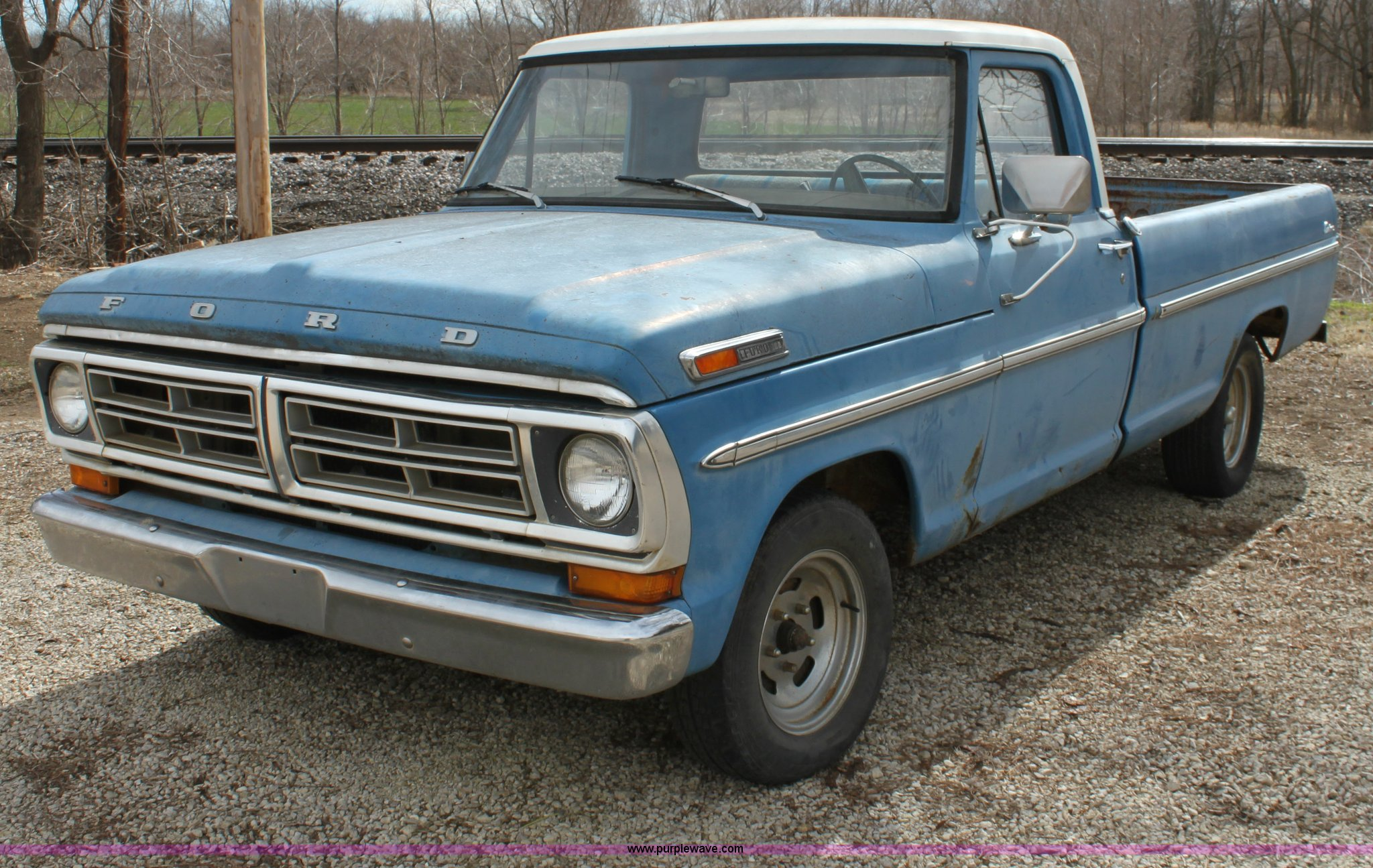 A7347 image for item a7347 1972 ford f100