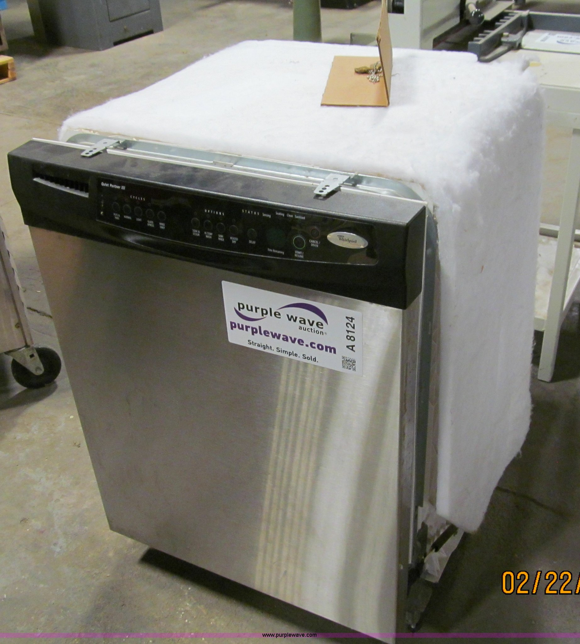 Whirlpool Gold Quiet Partner Iii Dish Washer In Des Moines Ia Item A8124 Sold Purple Wave