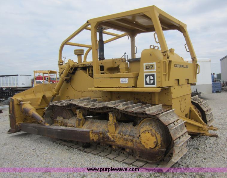 1967 Caterpillar D7E dozer | Item C5388 | SOLD! April 12 Con