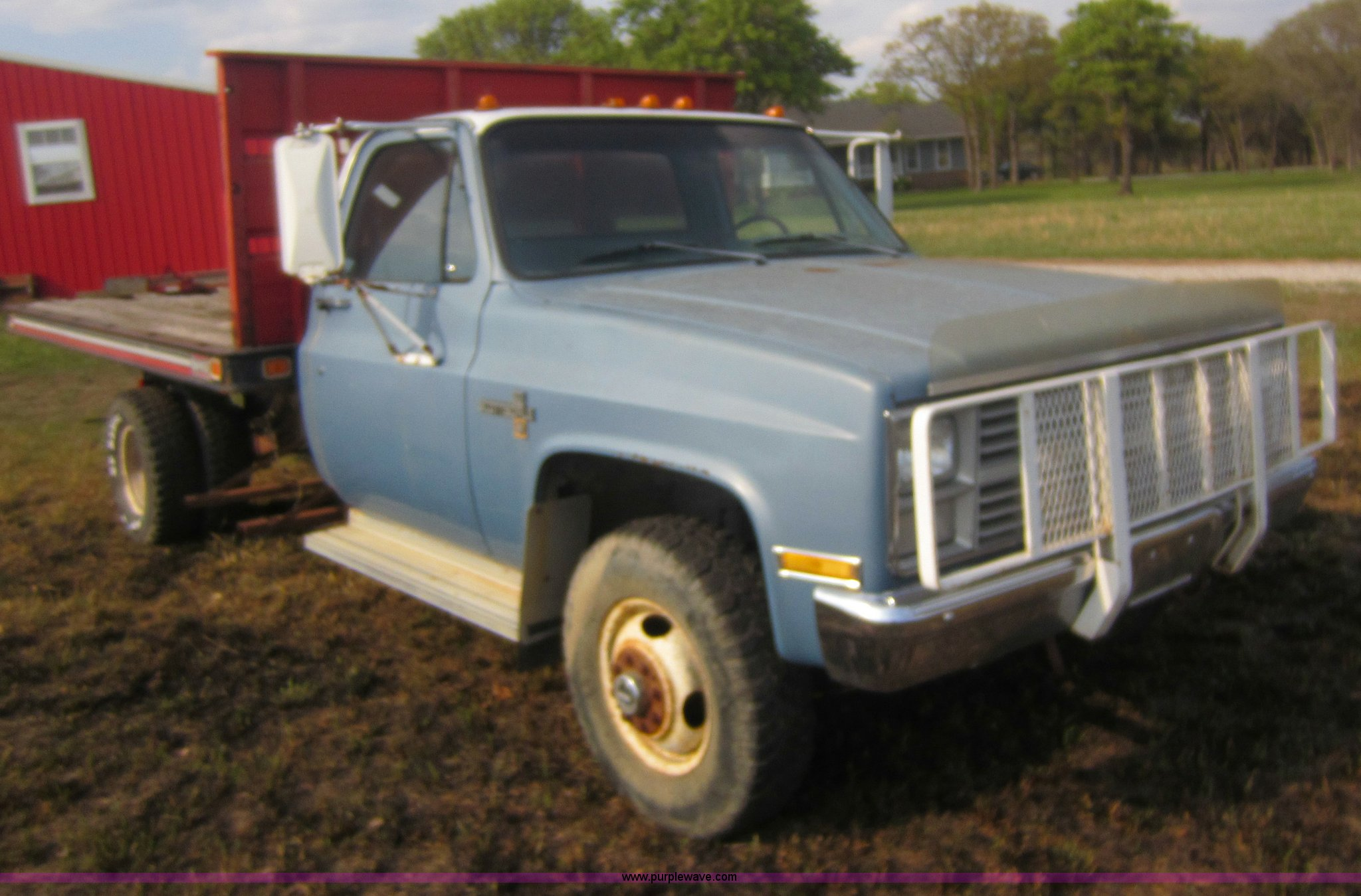 1983 chevrolet k30 flatbed truck full size in new window