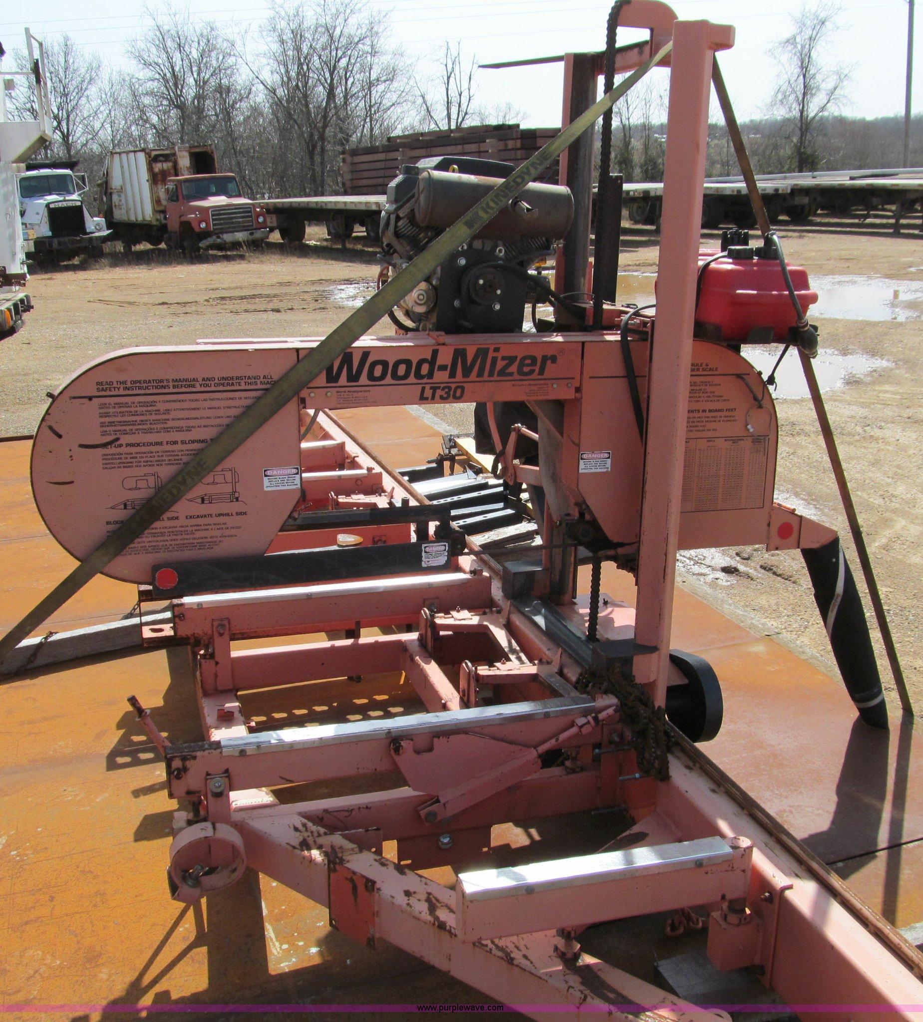 Woodmizer Sawmill For Sale >> 1997 Wood Mizer Lt30 Sawmill Item D3080 Sold April 18 M