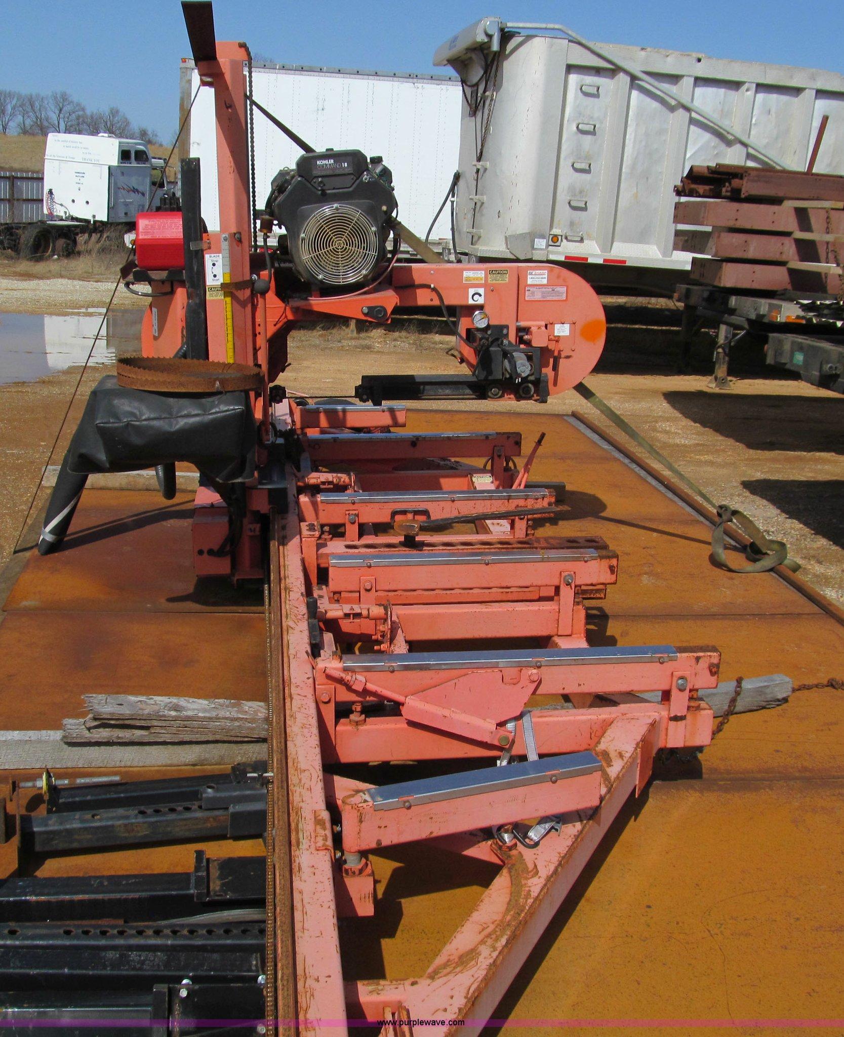 1997 Wood-mizer LT30 sawmill   Item D3080   SOLD! April 18 M