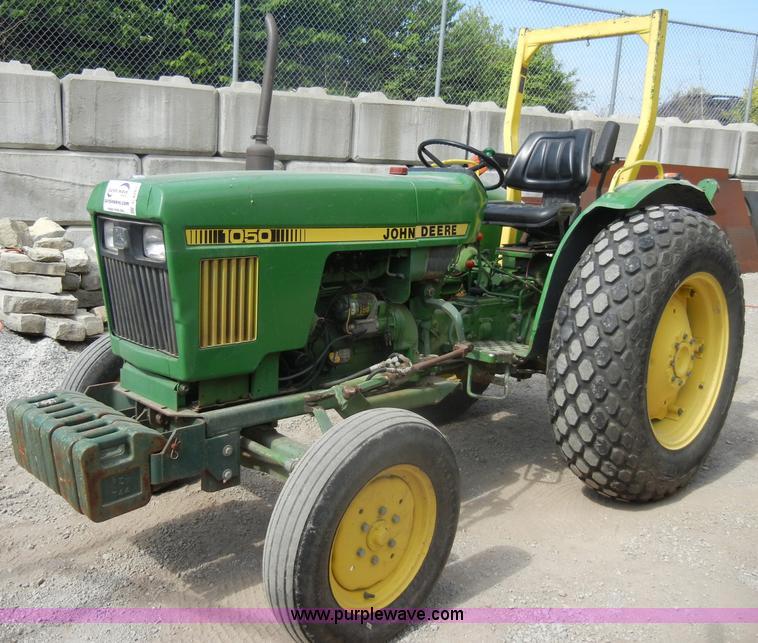 John Deere 1050 Tractor Seat : John deere tractor item c sold april