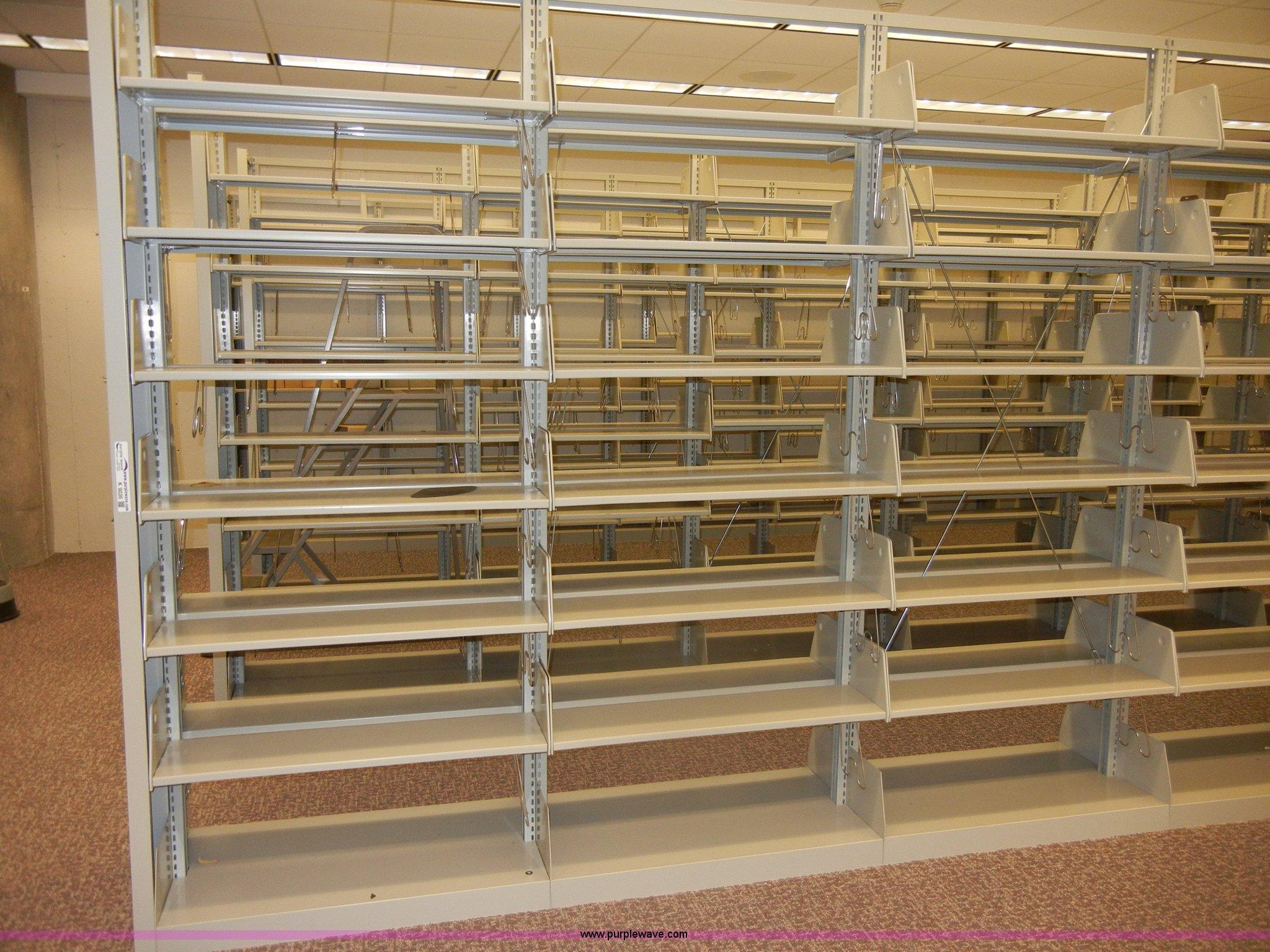 full size in new window - Metal Library Bookshelves
