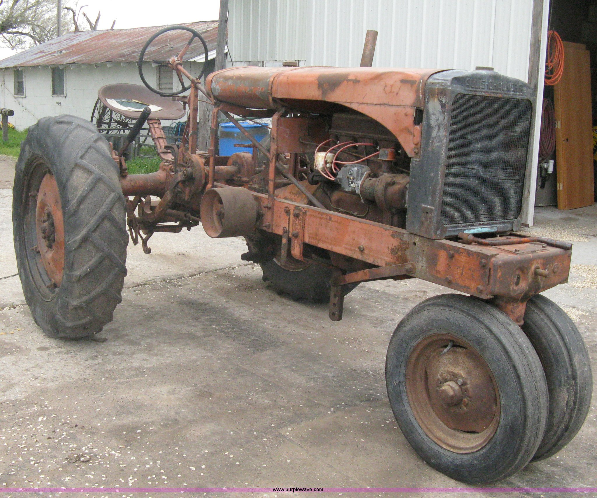 A6187 image for item A6187 1937 Allis Chalmers WC tractor