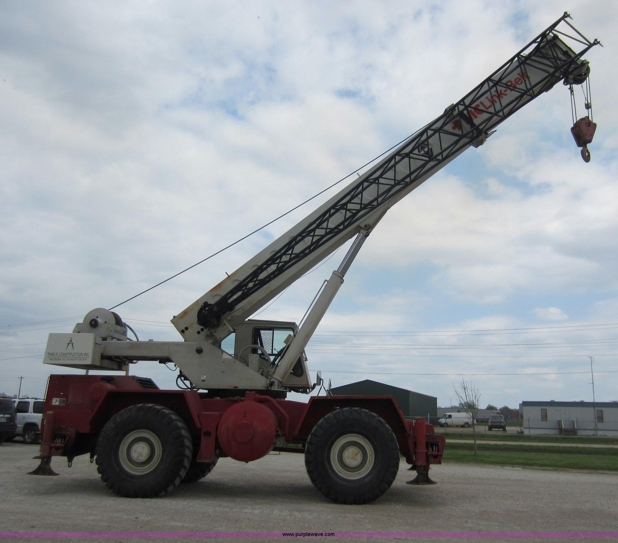 ... Link-belt HSP-8040 40 ton rough terrain Full size in new window ...