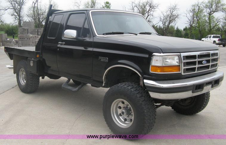 1997 ford f250 heavy duty extended cab pickup truck item a. Black Bedroom Furniture Sets. Home Design Ideas
