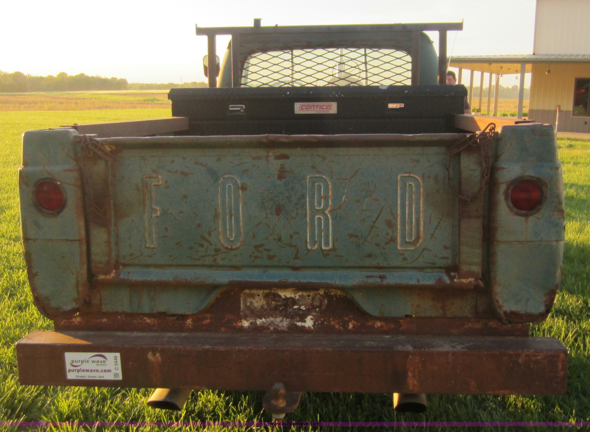 1961 Ford F100 Pickup Truck Item C5448 Sold May 2 Midwe Pick Up Full Size In New Window