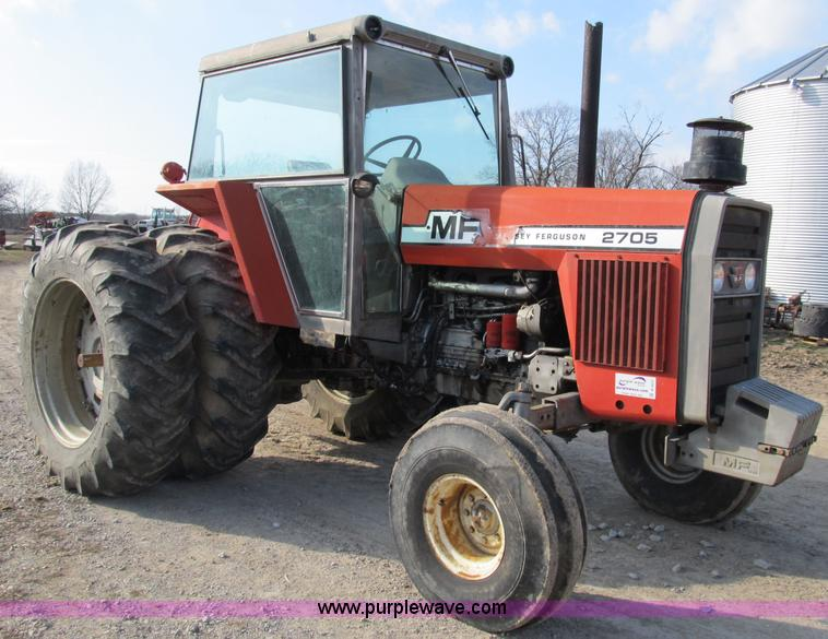 1980 Massey Ferguson Tractors : Massey ferguson tractor item b sold may